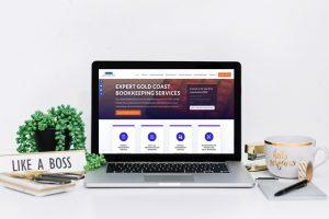 Bookkeeper Website Design Coomera